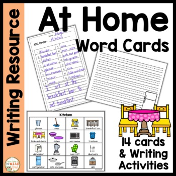 Word Cards:  At Home
