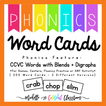 Word Cards {{CCVC Words}}