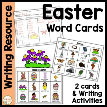 Word Cards:  Easter