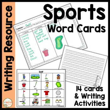 Word Cards:  Sports