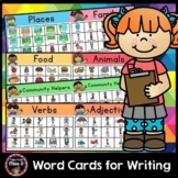 Word Cards for Writing