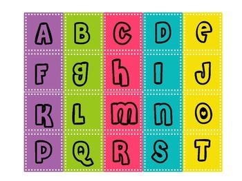Word Catcher Collection Header & Letters