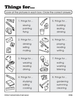 Word Categories (CCSS L.1.5a)