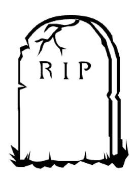 Word Cemetery Synonym Bulletin Board