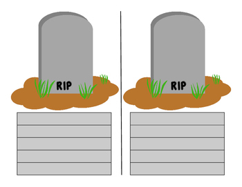 "Word Cemetery to Replace ""Dead"" Words Word Wall"