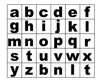 Word Changers Letters
