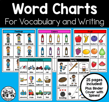 Word Charts for Vocabulary and Writing