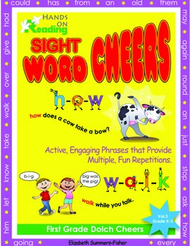 Active Word Cheers and Raps for First Grade Dolch Sight Words