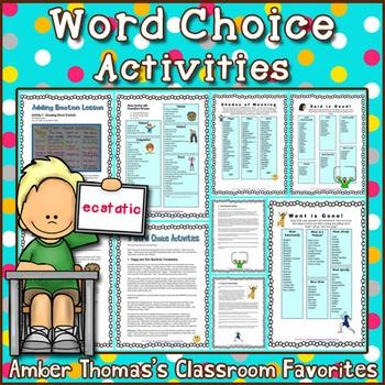 Word Choice Activities