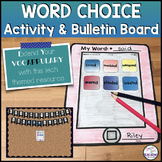 Vocabulary and Word Choice Activity