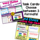 Word Choice: A Bundle of Activities