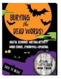 Word Choice: Burying the Dead Words Halloween Activity