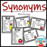 Synonym Mini Posters