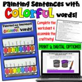 Word Choice Craftivity