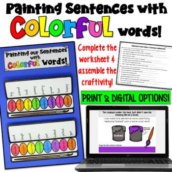 Word Choice Worksheets Teachers Pay Teachers