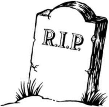 Word Choice Dead Word RIP Sheet
