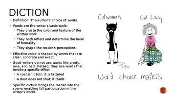 Word Choice: Diction, Connotation, Denotation, Syntax