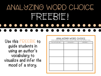 Word Choice Graphic Organizer