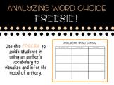 Word Choice Graphic Organizer