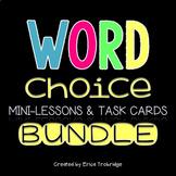 Word Choice Task Cards BUNDLE