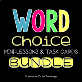 Word Choice Task Cards BUNDLE