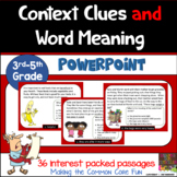 Context Clues and Word Meaning PowerPoint