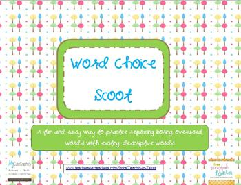 Word Choice Scoot