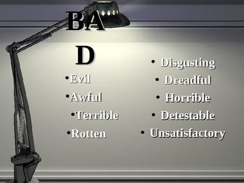 Word Choice Slide Show