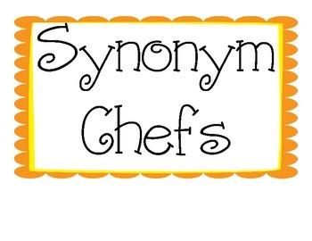 Word Choice- Synonym Chefs