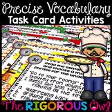 Word Choice Task Card Activities