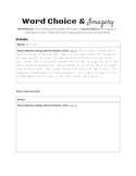 Word Choice and Imagery