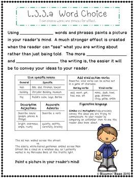 Word Choice and Spoken & Written English