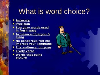 Word Choice in Writing PPT