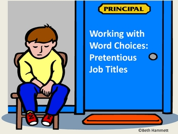 Word Choices: Prestigious Job Titles