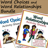Word Choices and Word Relationships Bundle