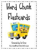 Word Chunk Cards