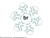 Word Chunk Snowflakes - Blends and Diagraphs