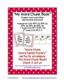 Word Family Student Writing Book - Personal Word Wall