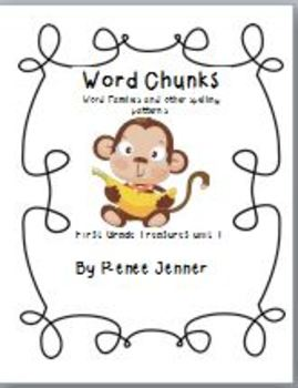 Word Chunks and Other Spelling Patterns Unit 1-First Grade Treasures
