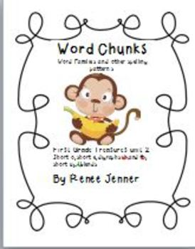 Word Chunks and Other Spelling Patterns Unit 2-First Grade Treasures