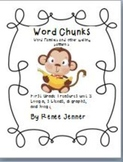 Word Chunks and Other Spelling Patterns Unit 3- First Grade Treasures