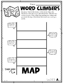 Word Climber Sample Pack - Short A FREEBIE