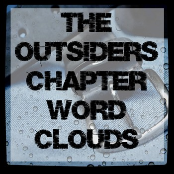 Word Clouds for each chapter of The Outsiders by S.E. Hinton