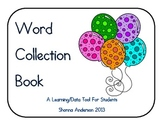 Word Collection Book