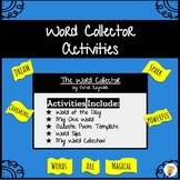 Word Collector Activities