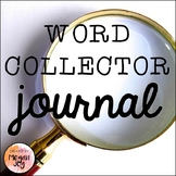 Word Collector Personal Student Dictionary