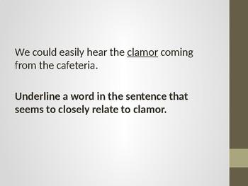 Word Comprehension Skills