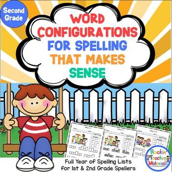 Word Configurations-Worksheets for Spelling Lists That Make Sense-2nd Grade