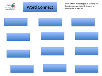 Word Connect Vocabulary Activity for DNA Profiling reading
