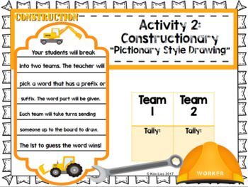 Word Construction: Prefix and Suffix Kit